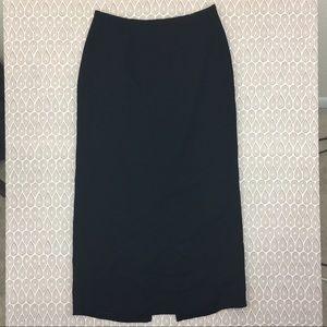 Emma James Women's Black Pencil Skirt Size 10 D46